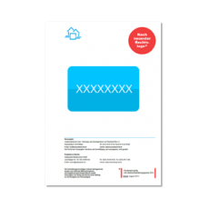 Freischalt-Code für einen Online-Mietvertrag